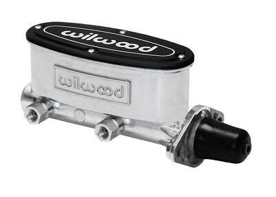 Wilwood Master Cylinder Polished 1-1/8 Bore Power & Non Power Brakes High Volume