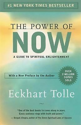 The Power of Now by Eckhart Tolle a paperback book FREE USA SHIPPING