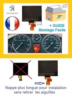 Peugeot 407 Lcd Pcb Vdo Display Screen Instrument Cluster Dash New Fr Supplier