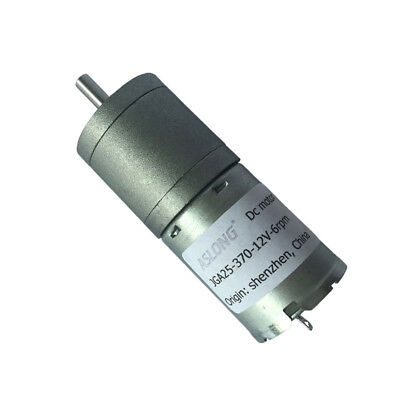DC3/6/12/24V JGA25-370 Full Metal Gear Reduction Motor with Gearbox For Smart Ca
