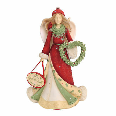 Heart of Christmas Deck the Halls Angel 6001398 New 2018
