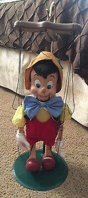 Disney Classics Pinocchio Singing Marionette with Stand Sings his Christmas Song