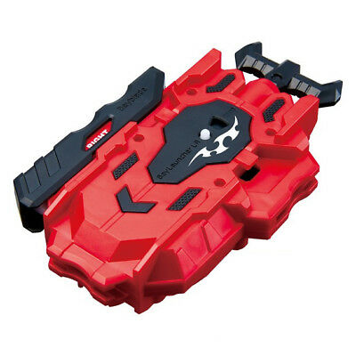 New Takaratomy Beyblade Burst B-88 Beylauncher LR Left Right Dual Spin Red Color