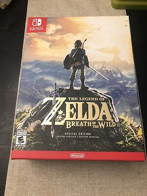 🔥 Nintendo Switch Legend of Zelda: Breath of the Wild SPECIAL Edition SEALED