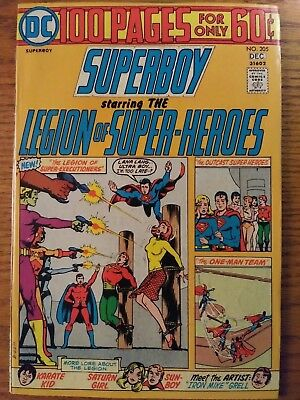 Superboy #205 (Dec 1974, DC) 100 Page Giant, VF/NM