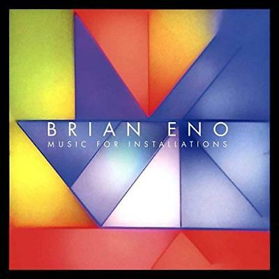 Music For Installations Brian Eno Audio CD