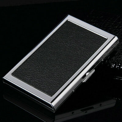 Waterproof Aluminum Business ID Credit Card Mini Wallet Holder Pocket Case Box R