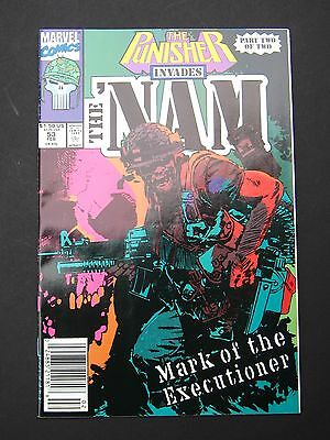 NAM #53 Punisher Appearance NM 1986 High Grade Marvel Comic Book Marines