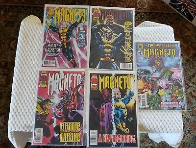 5 Marvel / Amalgam Comics Magneto & The Magnetic Men featuring Magneto