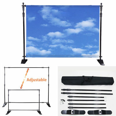 Newest Advertiseme Step and Repeat 8'x 8' Adjustable Telescopic Height and Width