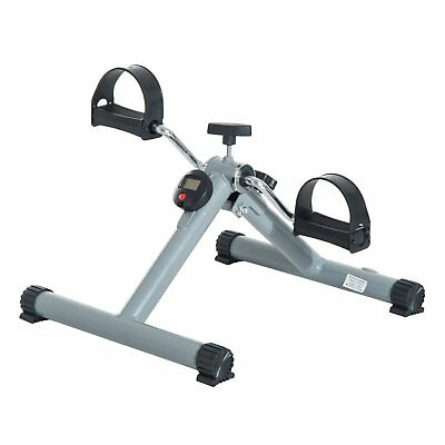 Soozier Foldable Pedal Exerciser Cycle Leg Arm w/ LCD Display Fitness