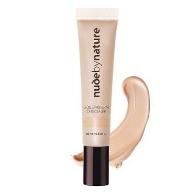 * Nude By Nature Liquid Mineral Concealer 10Ml For Light Skin Tones