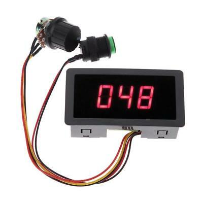 DC 6V-30V PWM Motor Speed Controller Digital LED Display Regulator