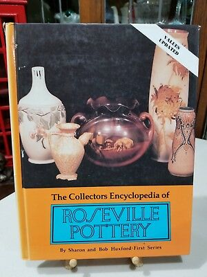 Roseville pottery book Sharon and Bob Huxford Collectors Encyclopedia [1995]