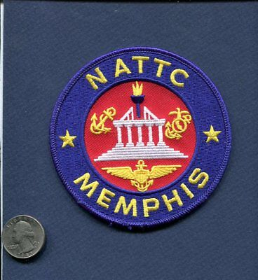 NATTC NAVAL AIR TECHNICAL TRAINING CENTER MEMPHIS US Navy Base Squadron Patch