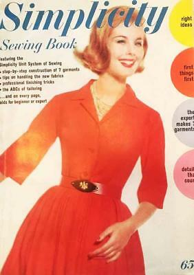 1962 Simplicity Sewing Book magazine 160 pages Helpful Hints & PATTERNS!!