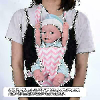 Baby Doll Carrier Shoulder Sling Toy Kids Children Toddler Birthday Gift Penguin