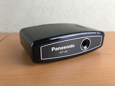 Panasonic KP-4A Pencil Sharpener Electronic Battery Powered WORKS GREAT!
