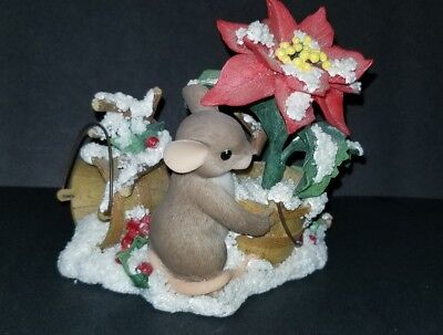 """Charming Tails By Fitz & Floyd """"you Add Color To The Season"""" Excellent Condition"""
