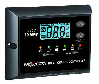 PROJECTA 10A 12V Solar Charge Controller 4 Stage Auto SC110