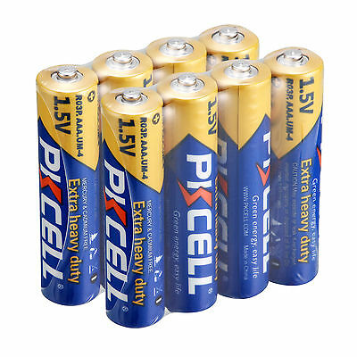 8pcs AAA Zinc-Carbon Battery 1.5V R03P UM4 Single use Batteries