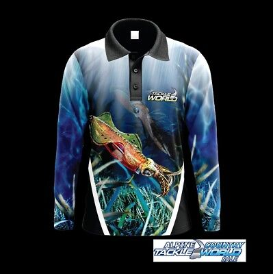 Tackle World Squid Fishing Shirt @ Tackle World Sale