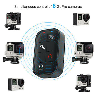 Smart WIFI Wireless Remote Control for GoPro Hero 6 5 4 3 Session Waterproof