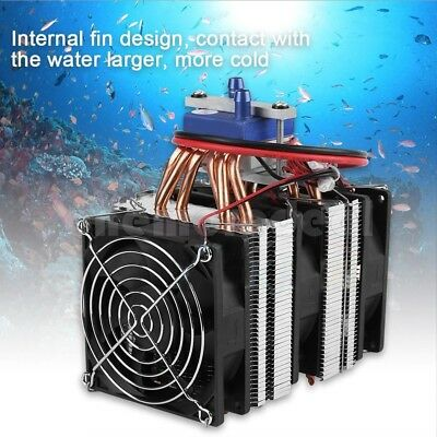 120W Thermoelectric Cooler Refrigeration Water DIY Cooling System for Fish Tank/