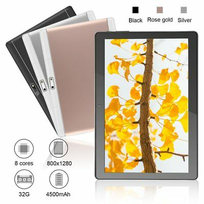 10.1 Inch 2.5D Tempered Glass Android 7.0 2GB RAM 32GB ROM Octa Core Tablet PC