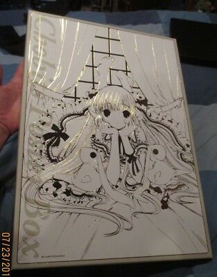 NEW Chobits Poster Box HUGE & COMPLETE ! x25 w/ CD & Book & Card CLAMP Art ANIME