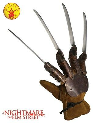 Costume Accessory Halloween Dreams Nightmare on Elm St Freddy Krueger Glove