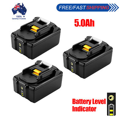for Makita 18V 6.0Ah Li-ion Battery with Charge Indicator for BL1860 BL1840