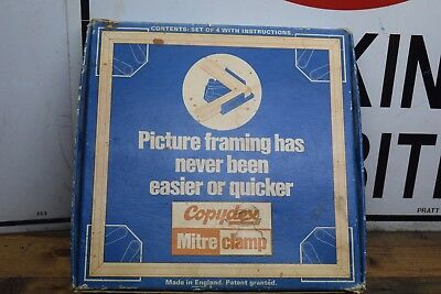 Vintage Copydex Mitre Clamp Set Picture Framing Ols Tools