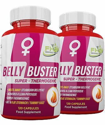 BELLY FAT BUSTER Strong Diet Pills Lose Stubborn STOMACH FAT and TUMMY FAT FAST