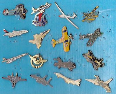 LOT DE 16 PIN'S AVIATION AVIONS AIR DIVERS ++++++++++++++r27++++++++++++++++++