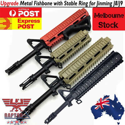 Metal Fishbone Upgrade Material for JinMing Gen8 M4A1 Gel Ball Toy Gun Blaster