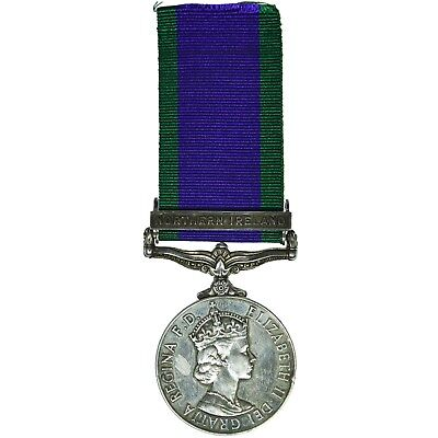 QEII General Service Medal 1962-2007 Northern Ireland - 24957534 FUS L WHITE RRF