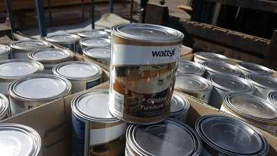 Wattyl outdoor furniture oil tung enriched decking 1 Lt  varnish  natural finish