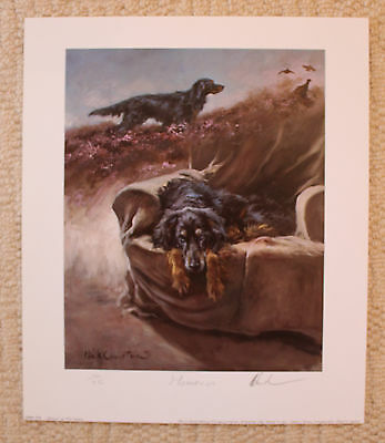 """Mick Cawston Limited Edition Signed Print  """"Memories"""""""