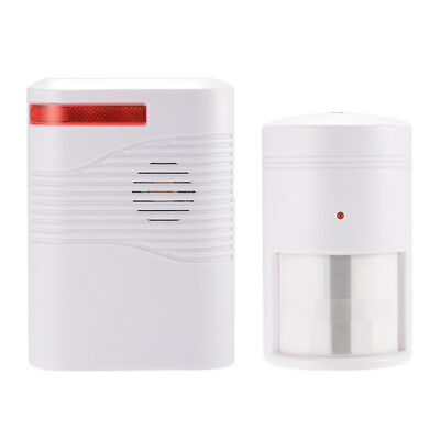 Wireless Home Driveway Alarm PIR Motion Sensor Infrared Alert with Chime AH433