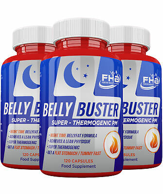 REDUCE BELLY FAT Strong NIGHT Diet Pills Slimming Tablet - BURN BODY FAT FAST !