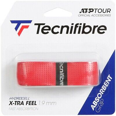 Tecnifibre X-TRA Feel - ATP World Tour - Replacement Tennis Grip - Red