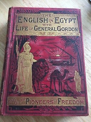 Sudan War - The English In Egypt - General Gordon - 1885