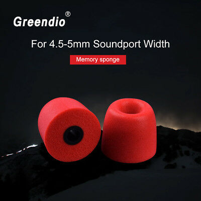 Original Memory Foam Ear Pads Tips Noise Isolating Earbud Comfortable Earpads