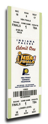 2000 NBA Finals Canvas Mega Ticket Indiana Pacers (First Finals Appearance)