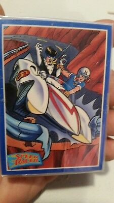 SPEED RACER (Prime Time/1993) Complete Trading Card Set CLASSIC ANIMATED IMAGES