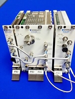 National Instruments NI PXIe-5668R 26.5 GHz, PXI Vector Signal Analyzer Plug-ins
