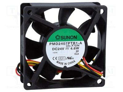 Fan: DC; axial; 24VDC; 70x70x25mm; 83.25m3/h; 45dBA; ball bearing [1 pcs]