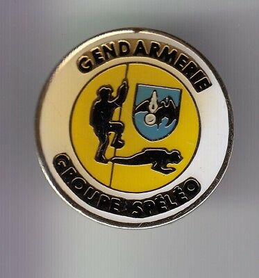Rare Pins Pin's .. Gendarmerie Swat Groupe Speleologie Plongee Diving Unit ~Ea