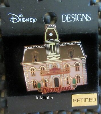 Disney 1998 Attraction Series - City Hall Pin